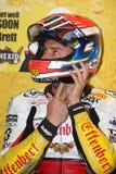Jakub Smrz - Ducati 1098R - Team la libertà di Effenbert fotografie stock