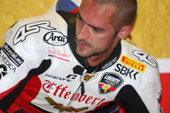 Jakub Smrz - Ducati 1098R - Team la libertà di Effenbert immagini stock libere da diritti