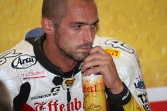Jakub Smrz - Ducati 1098R - Team la libertà di Effenbert fotografia stock libera da diritti