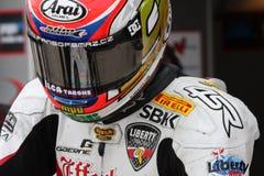 Jakub Smrz - Ducati 1098R - Team la libertà di Effenbert immagini stock