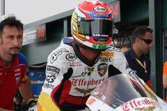 Jakub Smrz - Ducati 1098R - Team la libertà di Effenbert fotografie stock libere da diritti