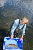 Jakub Vagner рыболов Стоковые Фото