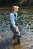 Jakub Vagner a fisherman Stock Image