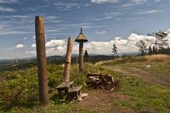 Jakubovsky vrch i Javorniky Royaltyfri Fotografi