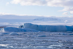Jakulsarlon glacier iceberg Stock Photography