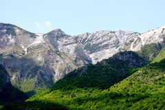jakupica马其顿山脉 免版税库存照片