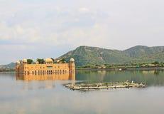 Jal玛哈尔,斋浦尔,拉贾斯坦,印度 免版税库存照片