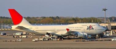 JAL à Tokyo Photos stock