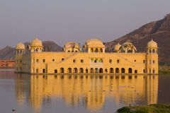 jal Индии jaipur mahal стоковое фото rf