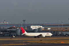 JAL at HANEDA Airport Stock Images