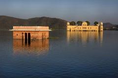 Jal Mahal (дворец) воды, Джайпур Стоковая Фотография