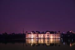 Jal Mahal на ноче Стоковые Фотографии RF