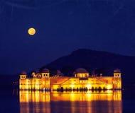 Jal Mahal (дворец воды).  Джайпур, Раджастхан, Индия стоковое фото rf