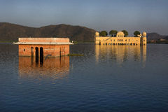 Jal Mahal (der Wasser-Palast), Jaipur Stockfotografie