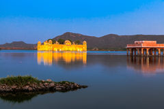 Jal Mahal in the evening Royalty Free Stock Images