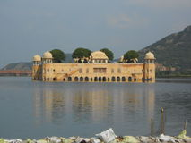 Jal Mahal. Fascinating view of Jal-mahal Jaipur Stock Photography