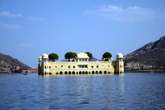 Jal Mahal, Jaipur Royalty-vrije Stock Afbeelding