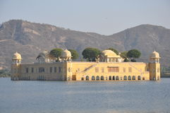 Jal Mahal in Jaipur Royalty Free Stock Photo