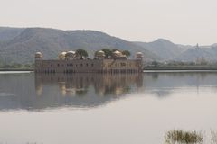 Jal Mahal in Jaipur Royalty Free Stock Photography