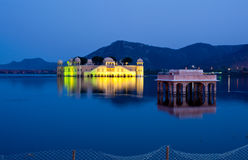 Jal Mahal - Jaipur. Jal Mahal Palace on lake Jodhpur India Stock Image