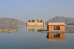 Jal Mahal, Jaipur, Ragiastan fotografie stock libere da diritti
