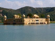 Jal Mahal, Jaipur, Rajasthan Royalty-vrije Stock Afbeelding