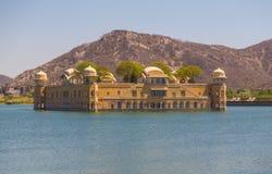 Jal Mahal jeziora pałac Obrazy Stock