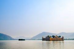 Jal Mahal, le palais de l'eau, Inde Image libre de droits