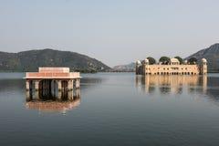 Jal Mahal and Man Sagar Lake Stock Images