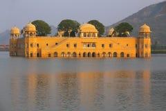 Jal Mahal and Man Sagar Lake in Jaipur, Rajasthan, India. Stock Photography