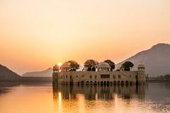 Jal Mahal. Morning view of Jal Mahal, Jaipur, India Royalty Free Stock Photography