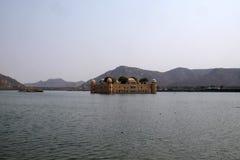 Jal Mahal Palace i Jaipur Royaltyfri Bild