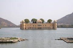 Jal Mahal Palace i Jaipur Arkivfoton