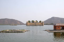 Jal Mahal Palace i Jaipur Fotografering för Bildbyråer