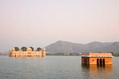 Jal Mahal Palace, Jaipur Photographie stock