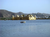 Jal Mahal in pink city jaipur. Scenic view of Jal Mahal in pink city jaipur Royalty Free Stock Images