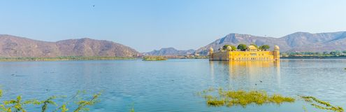 Jal Mahal, Rajasthan - Zdjęcia Stock