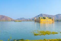 Jal Mahal - Rajasthan. The Jal Mahal Water Palace outside of Jaipur City, Rajasthan, India Stock Photos