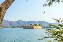 Jal Mahal - Rajasthan. The Jal Mahal Water Palace outside of Jaipur City, Rajasthan, India Stock Photo