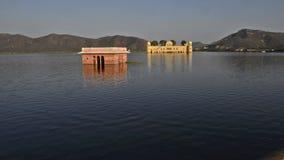 Jal Mahal, templo del agua almacen de metraje de vídeo