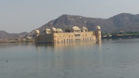 Jal mahal water Royalty Free Stock Photography