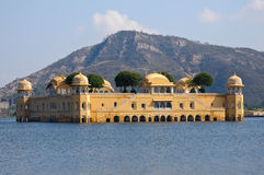 The Jal Mahal Water Palace Stock Photo