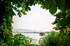 Jal Mahal Water Palace, Jaipur, Ragiastan, India Fotografia Stock Libera da Diritti