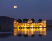 Jal Mahal (Water Palace).  Jaipur, Rajasthan, India Stock Photography