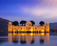 Jal Mahal Water Palace. Jaipur, Rajasthan, India Stock Images