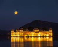 Jal Mahal (Water Palace).  Jaipur, Rajasthan, India Royalty Free Stock Photography