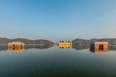 Jal Mahal (Water Palace).  Jaipur, Rajasthan, India Royalty Free Stock Photo