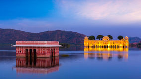 Jal Mahal Water Palace.  Jaipur, Rajasthan, India Stock Image