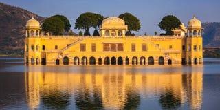 Jal Mahal Water Palace.  Jaipur, Rajasthan, India Royalty Free Stock Photo