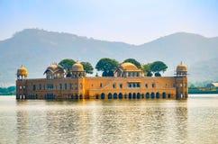 Jal Mahal Water Palace Jaipur, Rajasthan, Indien Royaltyfria Foton